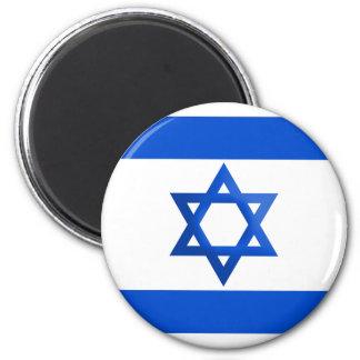 Bandera de Israel Imán Redondo 5 Cm
