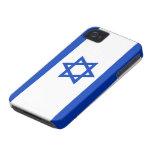 Bandera de Israel iPhone 4 Carcasas