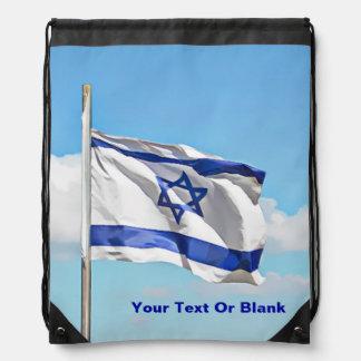 Bandera de Israel Mochilas