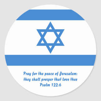 Bandera de Israel Etiqueta