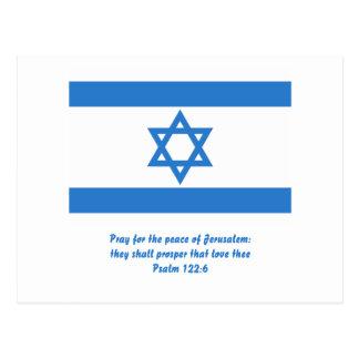 Bandera de Israel, Postal