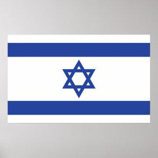 Bandera de Israel Póster