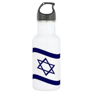 Bandera de Israel que agita