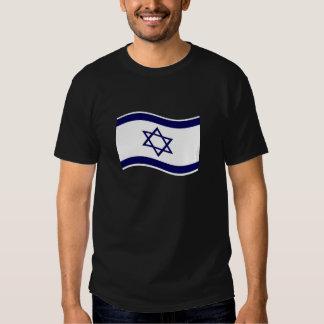 Bandera de Israel que agita Remeras