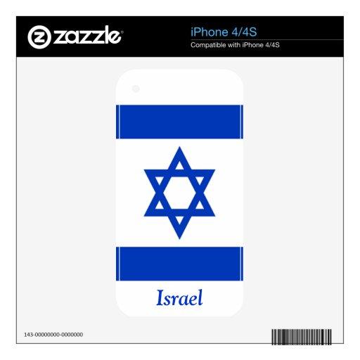 Bandera de Israel Skins Para iPhone 4