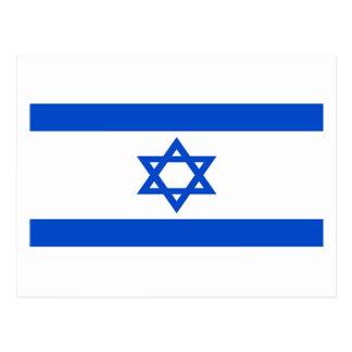 Bandera de Israel Tarjeta Postal