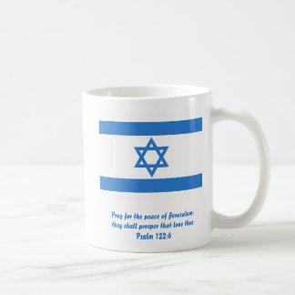 Bandera de Israel, Taza Básica Blanca