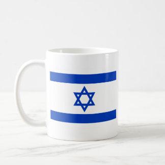Bandera de Israel Tazas De Café