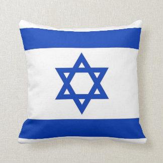 Bandera de Israelian en la almohada de MoJo del am