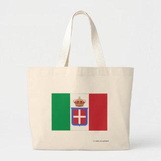 Bandera de Italia (1861-1946) Bolsa Tela Grande