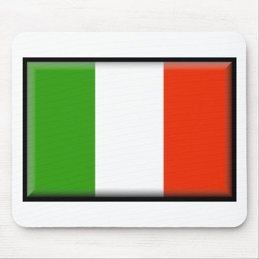 Bandera de Italia Alfombrilla De Ratones