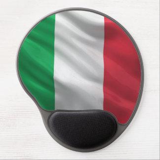 Bandera de Italia Alfombrillas De Ratón Con Gel