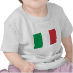 Bandera de Italia Camiseta