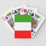 Bandera de Italia Cartas De Juego