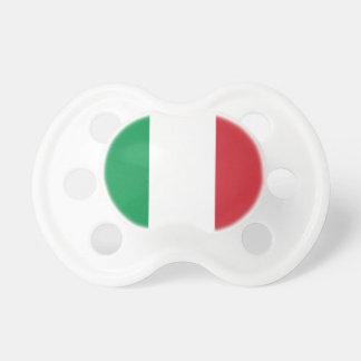 Bandera de Italia Chupete De Bebe