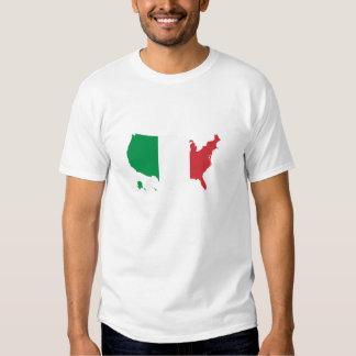 Bandera de Italia del italiano en los E.E.U.U. los Polera