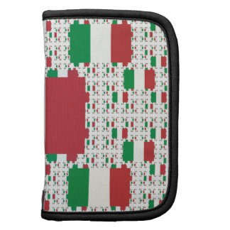 Bandera de Italia en capas coloridas múltiples Planificadores