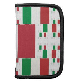 Bandera de Italia en las capas 2 del múltiplo Planificadores