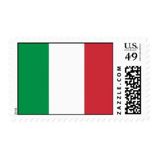 Bandera de Italia Estampilla