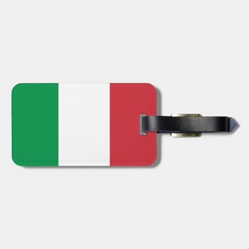 Bandera de Italia Etiquetas Bolsas
