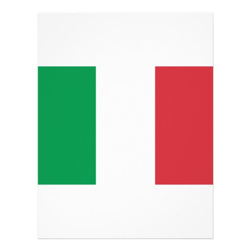 Bandera de Italia Tarjetas Publicitarias