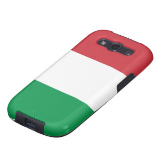 Bandera de Italia Galaxy S3 Carcasas