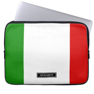 Bandera de Italia Funda Portátil