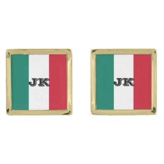 Bandera de Italia Gemelos Dorados