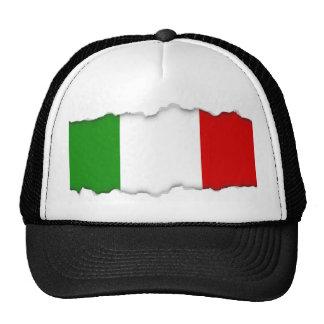 Bandera de Italia Gorras