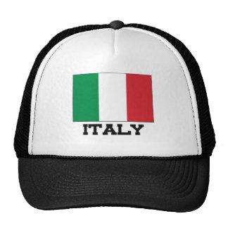 Bandera de Italia Gorros Bordados