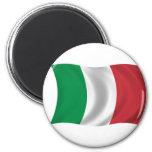 Bandera de Italia Iman Para Frigorífico