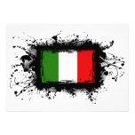 Bandera de Italia Invitación Personalizada