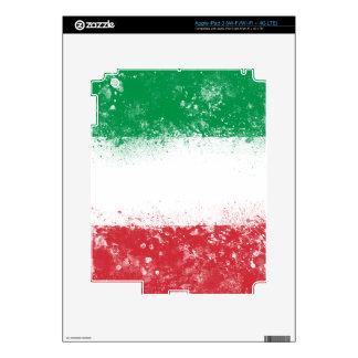 Bandera de Italia iPad 3 Pegatina Skin