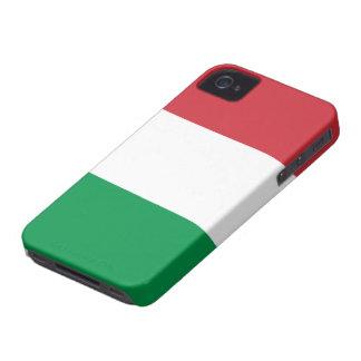 Bandera de Italia iPhone 4 Case-Mate Cárcasa
