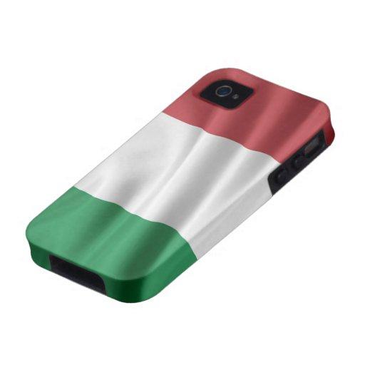 Bandera de Italia iPhone 4 Fundas