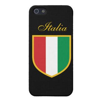 Bandera de Italia iPhone 5 Carcasa