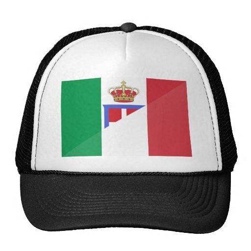 Bandera de Italia, Italia Gorros
