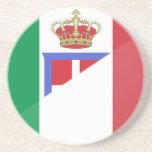 Bandera de Italia, Italia Posavasos Para Bebidas