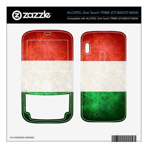 Bandera de Italia; Italiano; ALCATEL Tribe Skins