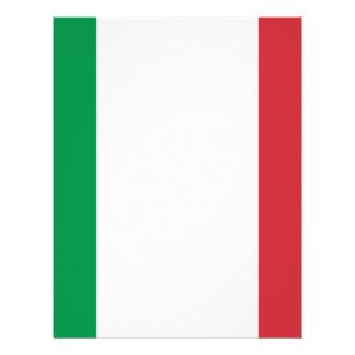 Bandera de Italia Membretes Personalizados