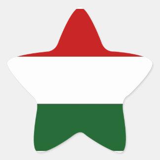 Bandera de Italia o de México/bandera Pegatina En Forma De Estrella