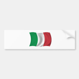 Bandera de Italia Pegatina Para Auto