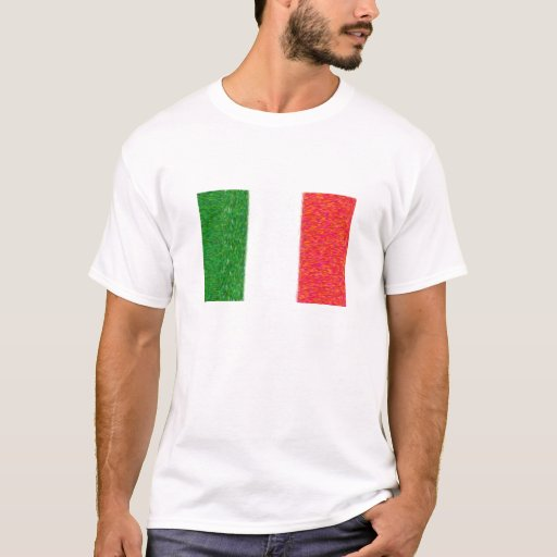 Bandera de Italia Playera