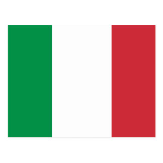 Bandera de Italia Postales