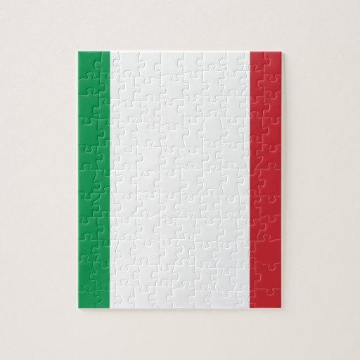Bandera de Italia Puzzle