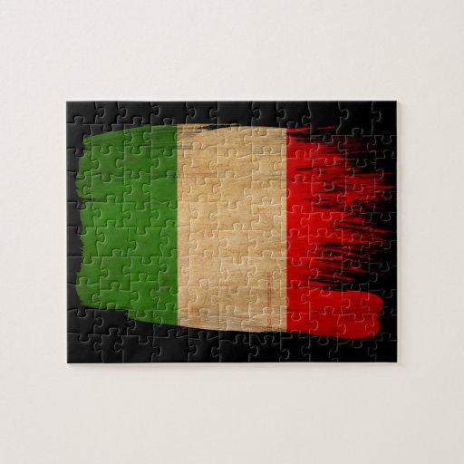 Bandera de Italia Rompecabeza Con Fotos