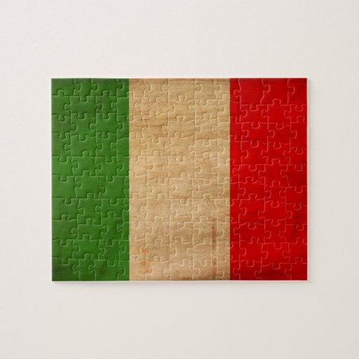 Bandera de Italia Rompecabeza
