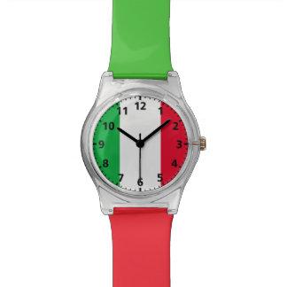 Bandera de Italia Relojes