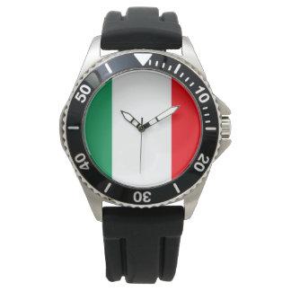 Bandera de Italia Relojes De Pulsera