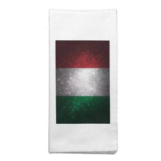 Bandera de Italia Servilleta Imprimida